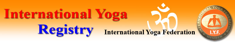 Find me on International Yoga Federation registry pages...